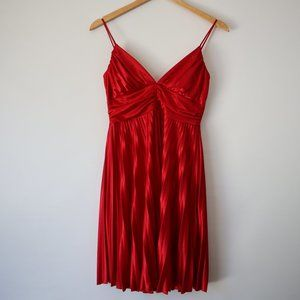 Vintage Taboo Red Dress